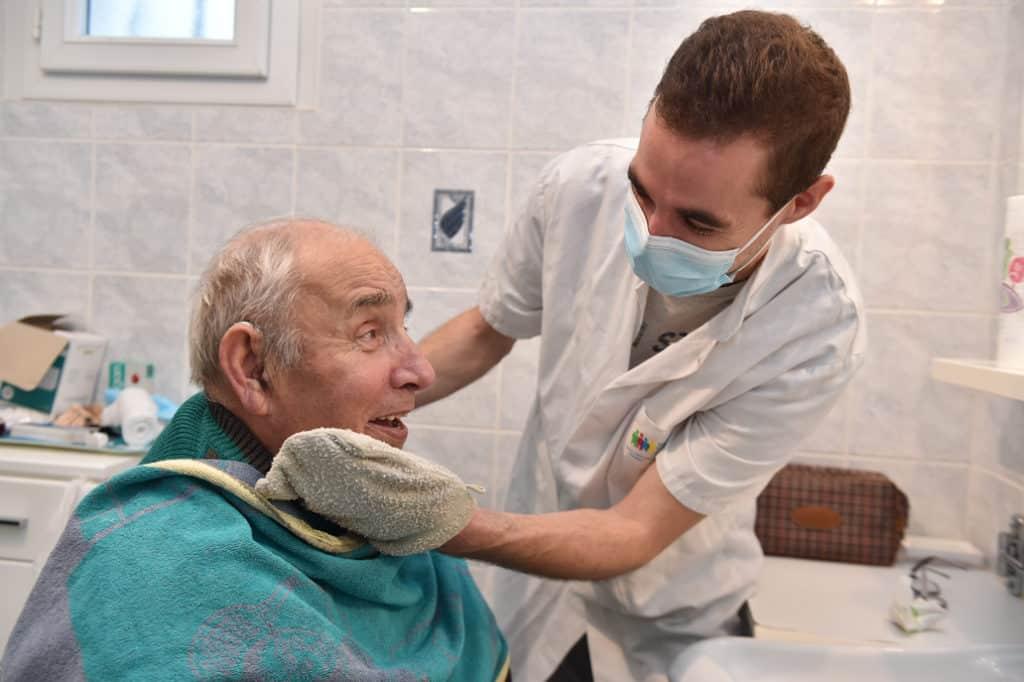 Les soins d'hygiène et de nursing